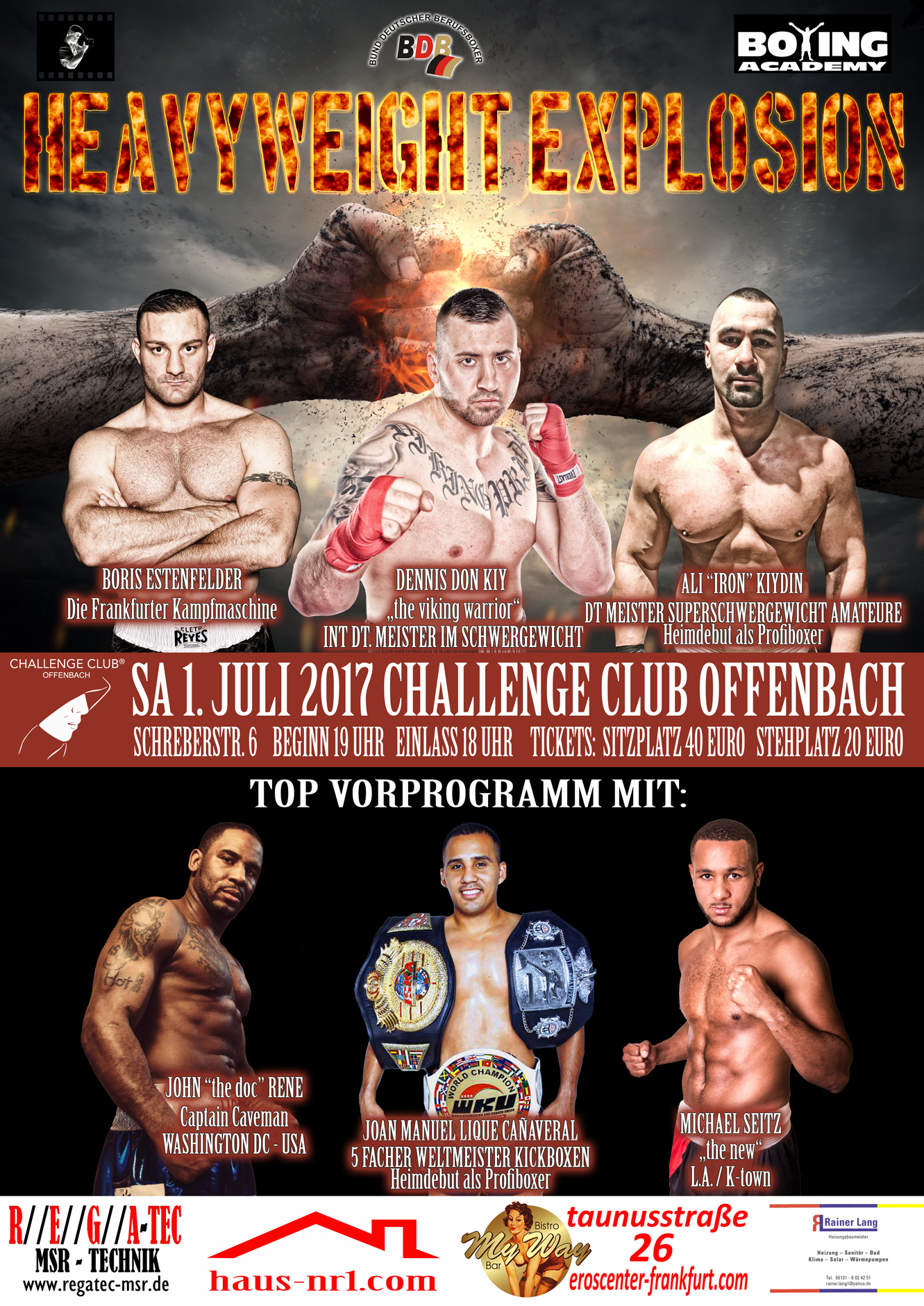 Challenge-Club-Offenbach-Heavyweight-Explosion-2017-Plakat-Web